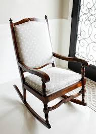 Fabric Rocking Chair For Nursery Rocking Chair Makeover Nursery Rocker Nursery Rocking Chair In