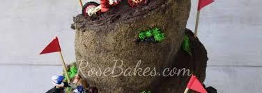 dirt bike racing cake rose bakes