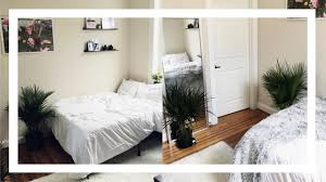my first apartment college room tour minimalist decoration tips