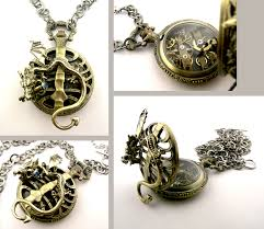 gothic steampunk necklace images Gothic steampunk dragon locket by steamsect png