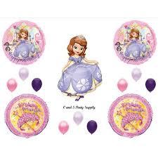 princess sofia happy birthday party balloons decorations