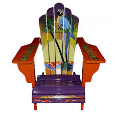 margaritaville sign logo adirondack chair for the home