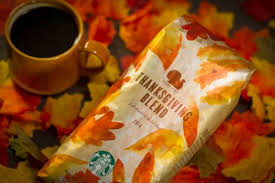 celebrating the season with starbucks thanksgiving blend starbucks