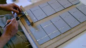 how to make a solar panel wiring soldering and cell layout