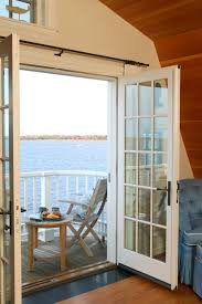 double bedroom deck exterior contemporary with board and batten