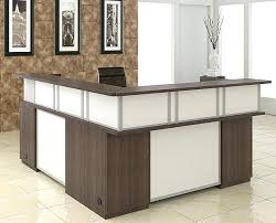 L Shape Reception Desk Mayline Sterling Series L Shape Reception Desk Mayline Sterling 96