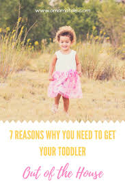 7 reasons why you need to get toddlers out of the house daily