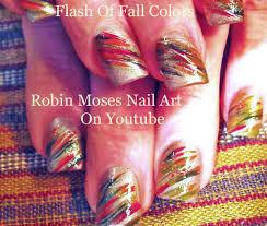 easy thanksgiving nail art tutorial fun fall nail art design for