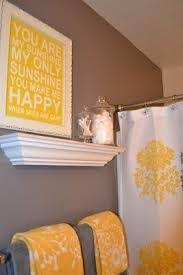 47 best my yellow and grey bathroom decorating a mustard and grey