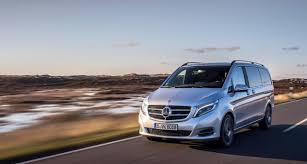 the v class u2013 the spacious sedan with the star mercedes benz