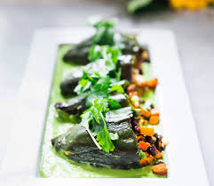 stuffed thanksgiving belly recipe how to make stuffed poblano peppers with avocado cilantro