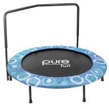 upper bounce mega trampoline 10 ft x 17 ft fiber flex