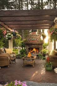 Garden Ideas And Outdoor Living Magazine Outdoor Living Spaces With Fireplace Outdoor Furniture With Ideas