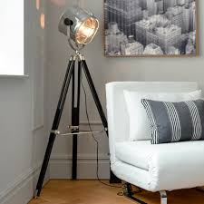 Spotlight Floor Lamp Stylish Spotlight Floor Lamp Spotlight Metal Tripod Floor Lamp