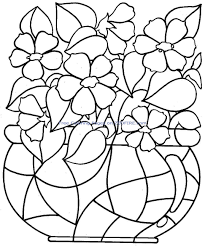 free coloring pages flowers 15811 bestofcoloring com