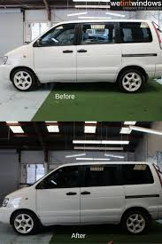 Window Tinting Richmond Va Black Sport Car Before And After Window Tinting Before And After