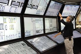 the control room for the qinghai tibet railway in xining control
