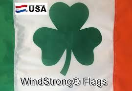 ft x 5 ft ireland irish shamrock windstrong quality nylon outdoor