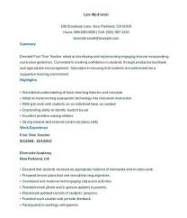 resume template education new resume template elementary resume exles