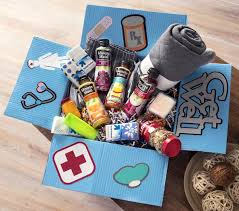 care package sick friend diy get well care package doingood mod podge rocks