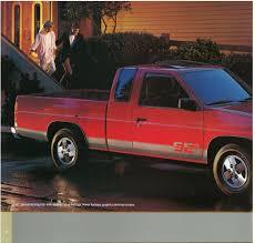 nissan hardbody 1987 nissan hardbody truck d21 dealer brochure us market nicoclub