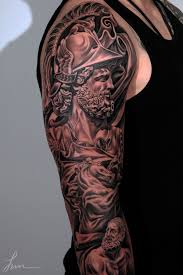 a tattoo of mars the roman god of war foundation of rome