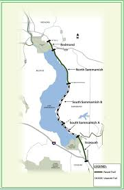 seattle map eastlake east lake sammamish trail king county