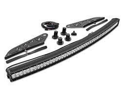 Mounting Brackets For Led Light Bar Zroadz F 150 50 In Curved Led Light Bar W Front Roof Light Bar