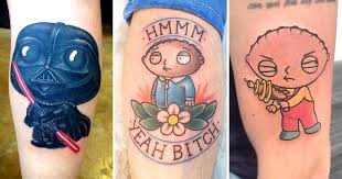 what the deuce 12 awesome stewie griffin tattoos tattoodo