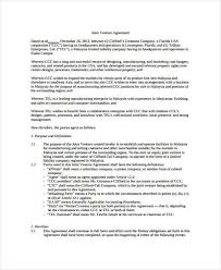 sample joint venture agreement forms 8 free documents in word pdf