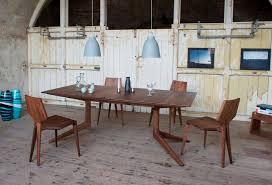 de la espada dining table contemporary table wooden rectangular extending 314e light
