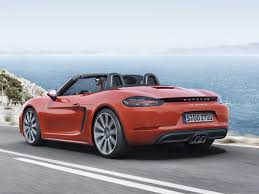 red porsche boxster porsche 718 boxster is here for 2017 business insider
