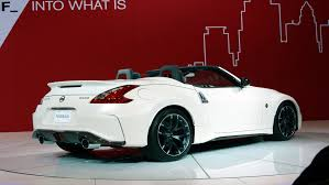 new nissan z nissan the new 2019 2020 nissan 370z roadster rear photo 2019