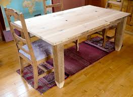 How To Make A Dining Room Table How To Make A Dining Table From Reclaimed Wood Apartment Therapy