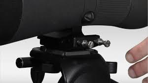 spotting scope window mount manfrotto anti twist plate youtube