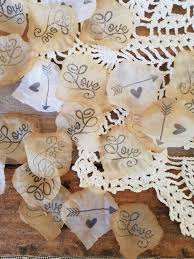 bridal shower decor wedding confetti toss bohemian bridal shower decorations