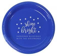 hanukkah plates personalized hanukkah party supplies hanukkah napkins the