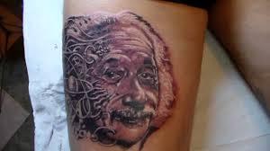 einstein tattoo youtube