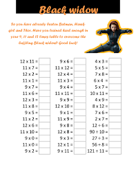 superhero times table tests by cellerdore teaching resources tes