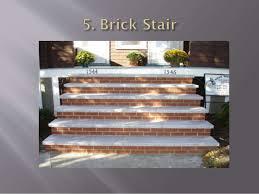 Brick Stairs Design Stairs Ppt