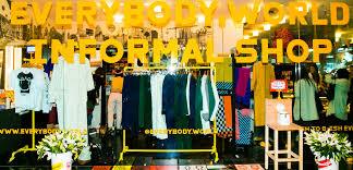 informal shop at the standard everybody world