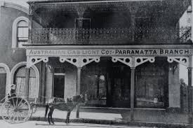 parramatta gasworks and the australian gas light company lighting