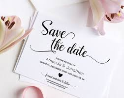 save the date wedding save the dates etsy