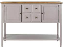 Kitchen Buffet And Hutch Furniture Furniture White Painted Kitchen Buffet With Wooden Top And