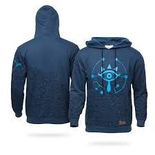 breath of the wild pullover hoodie thinkgeek