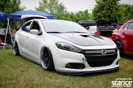 2013 dodge dart tuner event coverage 2014 niagara tuner truck expo stance is everything