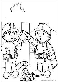 transmissionpress bob the builder coloring pages for kids