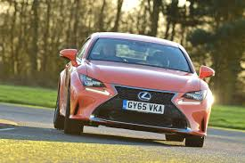 old lexus coupe lexus rc review auto express