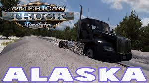 Alaska Map Usa american truck simulator alaska usa offroad alaska map mod