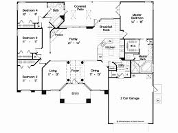 one story home floor plans one story house plans with great room new 4 bedroom house plans 4